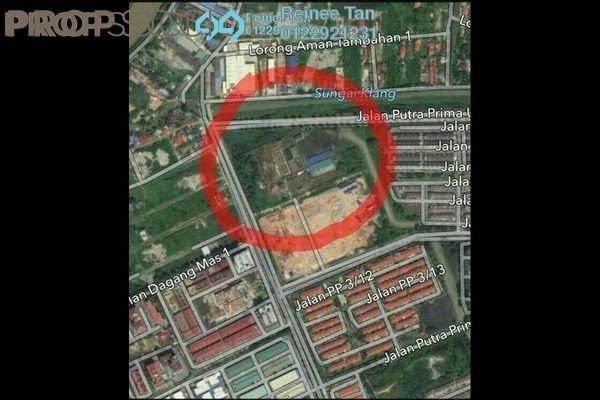 For Sale Land at Taman Mas Sepang, Puchong Freehold Unfurnished 0R/0B 650k