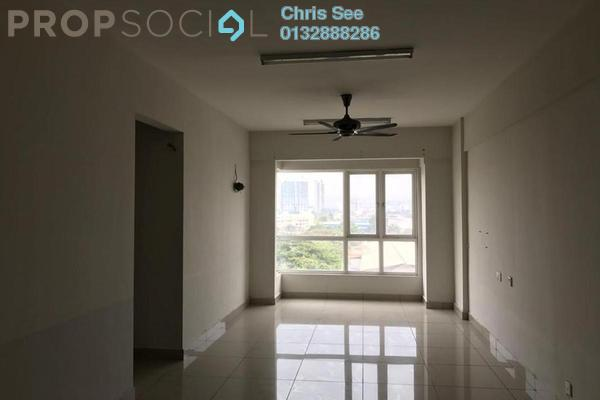 For Sale Condominium at First Residence, Kepong Freehold Semi Furnished 3R/2B 480k