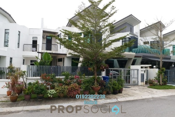 For Sale Superlink at Laman Glenmarie, Saujana Freehold Semi Furnished 4R/4B 1.5m