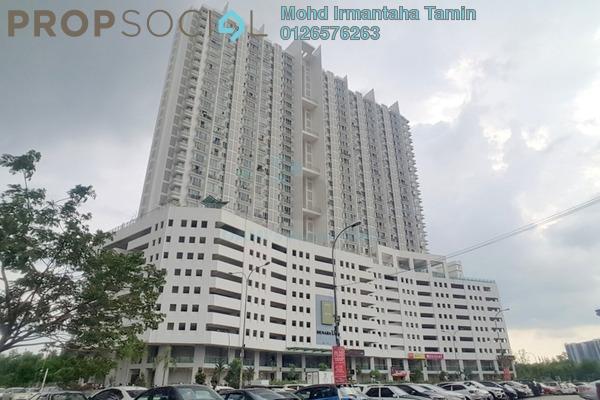 For Sale Apartment at Menara U2, Shah Alam Freehold Semi Furnished 2R/1B 315k
