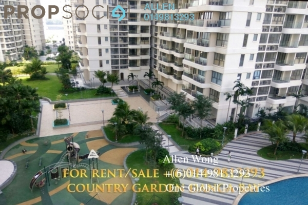 For Sale Condominium at Country Garden Danga Bay, Danga Bay Freehold Fully Furnished 2R/1B 7m