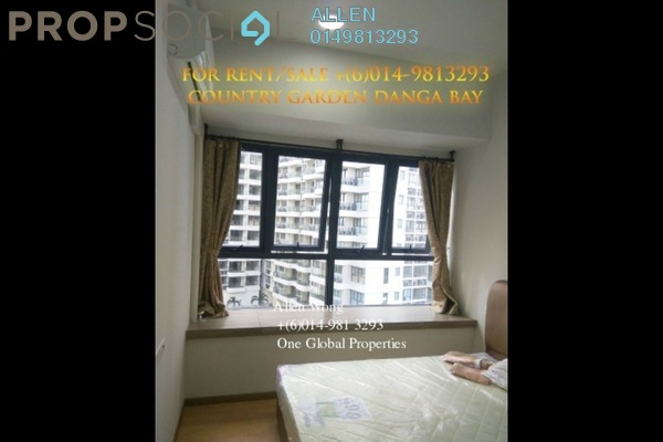 For Rent Condominium at Country Garden Danga Bay, Danga Bay Freehold Fully Furnished 2R/1B 1.7k