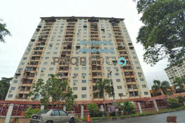 For Sale Apartment at Taman Gombak Permai, Batu Caves Freehold Fully Furnished 3R/2B 370k