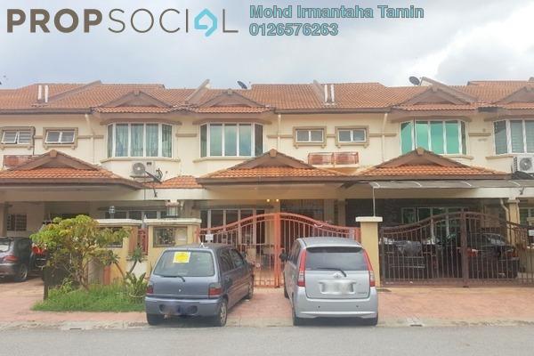 For Sale Terrace at Subang Galaxy, Subang Freehold Semi Furnished 4R/3B 640k