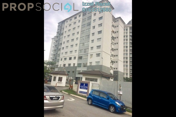 For Sale Apartment at Sutera Apartment, Bandar Tun Hussein Onn Freehold Semi Furnished 3R/2B 320k