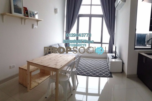 For Rent Apartment at Vega Residensi, Cyberjaya Freehold Fully Furnished 2R/2B 1.8k