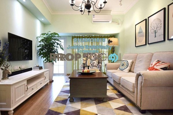 For Sale Condominium at The View Residences, Shah Alam Freehold Semi Furnished 3R/2B 580k