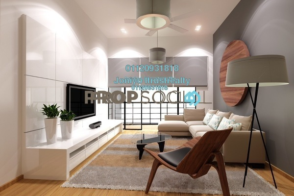 For Sale Condominium at Emporis, Kota Damansara Freehold Semi Furnished 3R/2B 580k