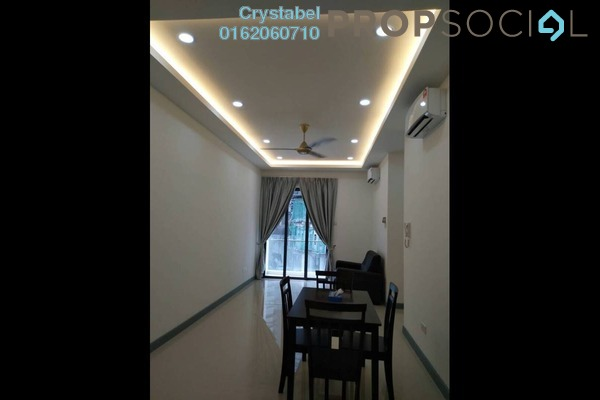 For Rent Condominium at South View, Bangsar South Freehold Fully Furnished 2R/1B 2.5k