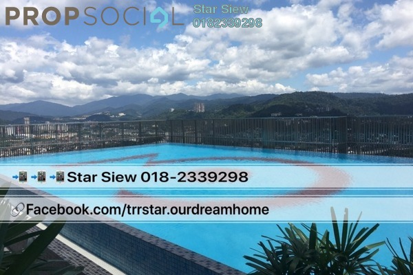 For Rent Condominium at 3 Towers, Ampang Hilir Freehold Semi Furnished 2R/1B 2.8k