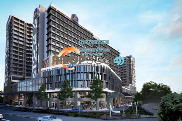 For Sale Serviced Residence at Centrestage, Petaling Jaya Freehold Fully Furnished 3R/2B 650k