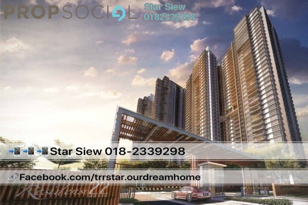 For Rent Condominium at Residensi 22, Mont Kiara Freehold Semi Furnished 3R/3B 6.5k