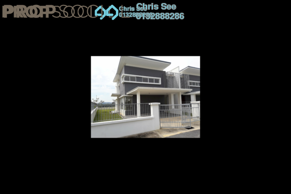 For Rent Semi-Detached at BSC Waterfront, Bandar Seri Coalfields Freehold Unfurnished 5R/5B 1.5k