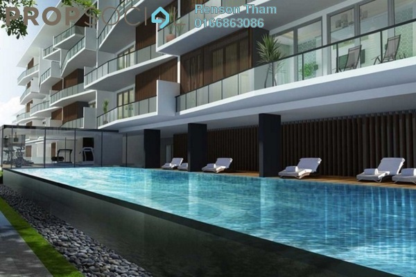 For Sale Condominium at The Edge Residen, Subang Jaya Freehold Semi Furnished 2R/2B 380k
