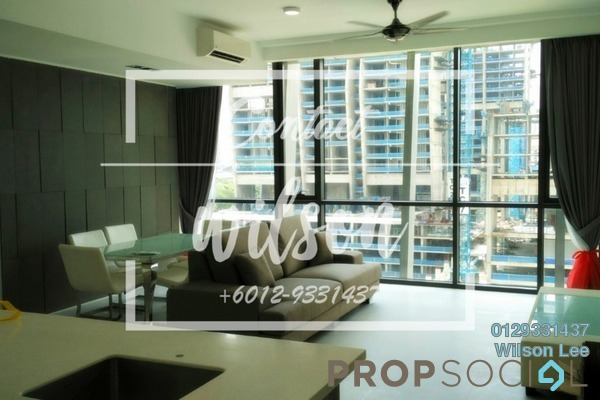 For Rent Condominium at The Capers, Sentul Freehold Fully Furnished 3R/4B 3.3k