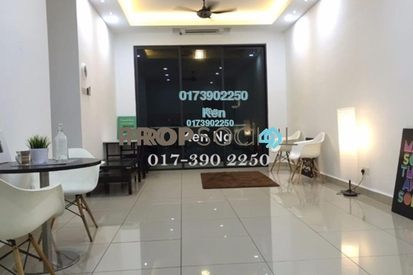 For Rent Condominium at USJ One Park, UEP Subang Jaya Freehold Semi Furnished 4R/3B 1.7k
