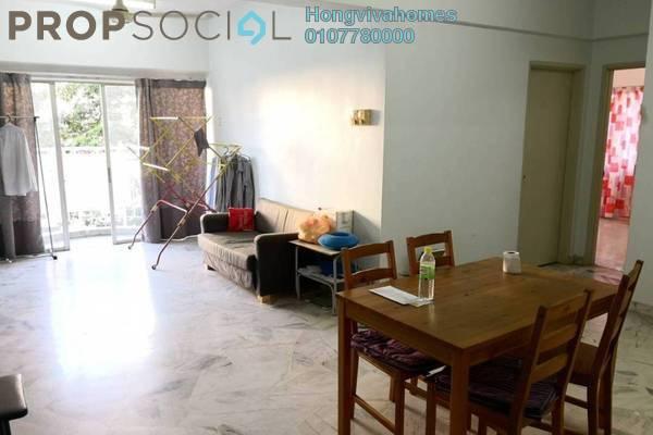 For Sale Condominium at Sri Pelangi, Setapak Freehold Semi Furnished 3R/2B 355k