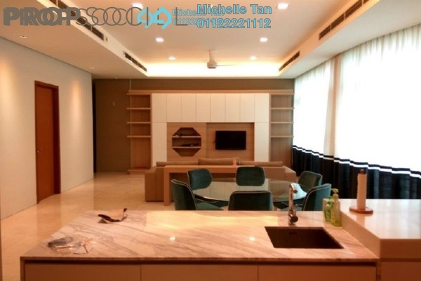 For Rent Condominium at Quadro Residences, KLCC Freehold Fully Furnished 4R/5B 12k