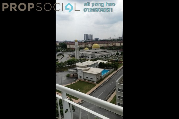 For Rent Condominium at Kristal Heights, Shah Alam Freehold Semi Furnished 3R/2B 1.5k