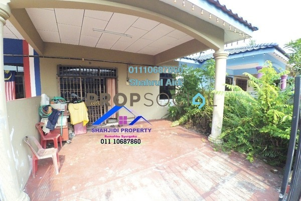 For Sale Terrace at Taman Sri Gading, Muar Freehold Semi Furnished 3R/2B 250k