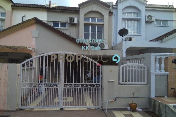 For Sale Link at Section 6, Bandar Mahkota Cheras Freehold Semi Furnished 4R/3B 465k