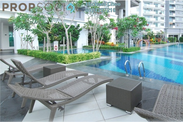 For Sale Condominium at Vertiq, Gelugor Freehold Fully Furnished 3R/2B 890k