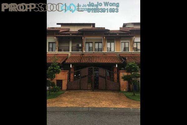 For Sale Terrace at Tropika, Bukit Jelutong Freehold Semi Furnished 6R/6B 1.19m