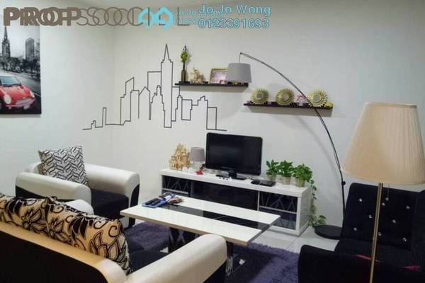 For Rent Condominium at Putra One, Bukit Rahman Putra Freehold Fully Furnished 3R/2B 1.8k