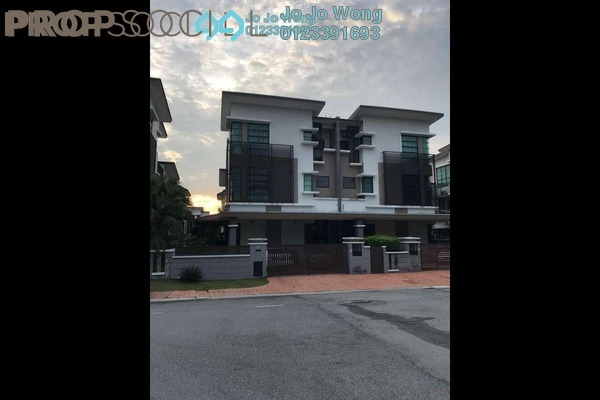 For Sale Semi-Detached at Jelutong Heights, Bukit Jelutong Freehold Fully Furnished 6R/4B 2.4m