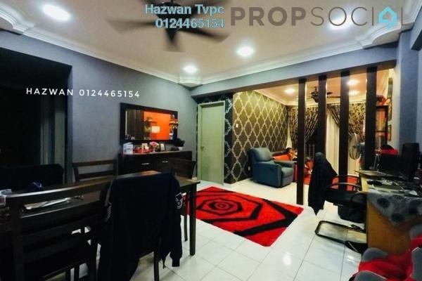 For Sale Apartment at Sri Lavender Apartment, Kajang Freehold Semi Furnished 3R/2B 315k