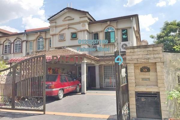 For Sale Terrace at USJ 14, UEP Subang Jaya Freehold Semi Furnished 4R/3B 888k