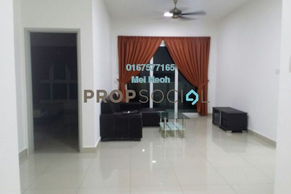 For Rent Condominium at Seasons Luxury Apartments, Johor Bahru Freehold Fully Furnished 3R/2B 1.7k
