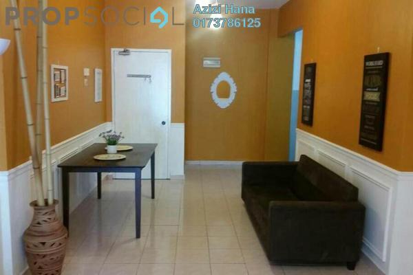 For Sale Apartment at Orkid Apartment, Shah Alam Freehold Semi Furnished 3R/2B 305k