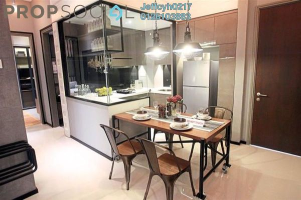 For Sale Condominium at SkySierra, Setiawangsa Leasehold Semi Furnished 3R/3B 484k