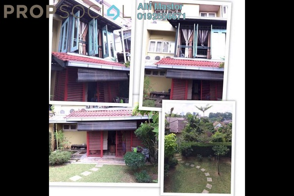 For Sale Terrace at Taman Zooview, Ukay Freehold Unfurnished 3R/3B 890k