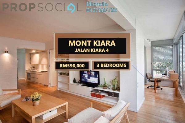 For Sale Condominium at Inspirasi Mont'Kiara, Mont Kiara Freehold Semi Furnished 3R/2B 630k