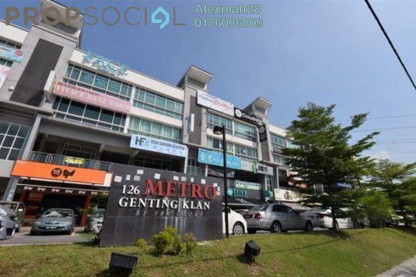 For Rent Shop at Metro Genting Klang, Setapak Freehold Unfurnished 0R/2B 7k