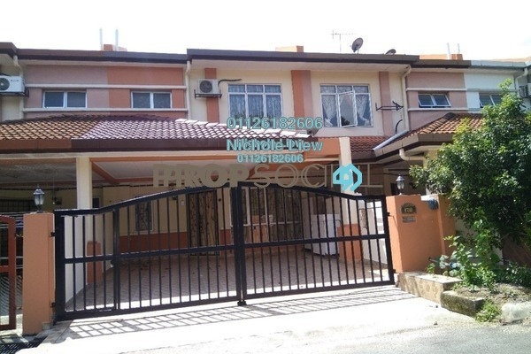 For Sale Link at Taman Pinggiran Mahkota, Bandar Mahkota Cheras Freehold Semi Furnished 4R/3B 498k