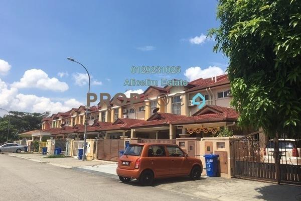 For Sale Terrace at Taman Subang Intan, Subang Freehold Semi Furnished 4R/3B 600k