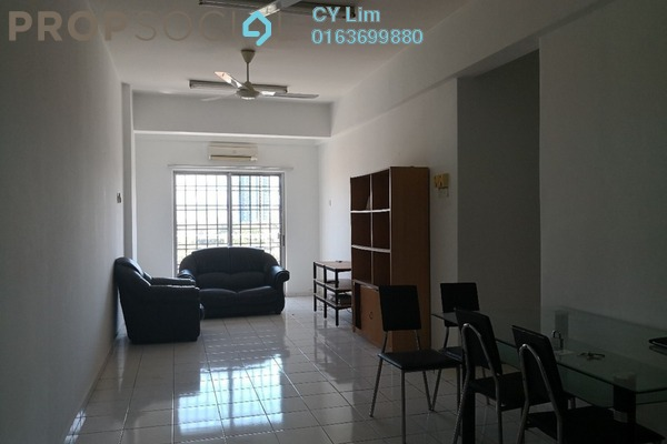 For Rent Apartment at Jalil Damai, Bukit Jalil Freehold Fully Furnished 3R/2B 1.1k