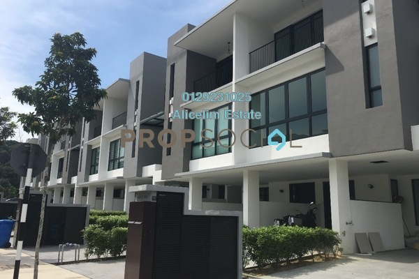 For Rent Townhouse at Primer Garden Town Villas, Cahaya SPK Freehold Semi Furnished 3R/4B 1.95k