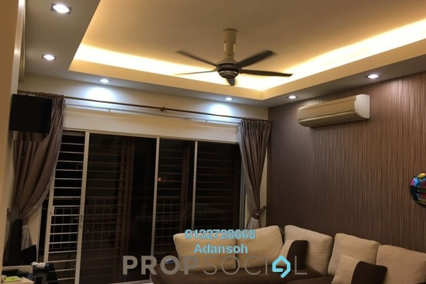 For Sale Condominium at Plaza Menjalara, Bandar Menjalara Freehold Semi Furnished 3R/2B 640k