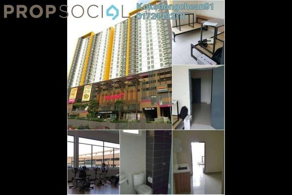 For Rent Condominium at MesaHill, Putra Nilai Freehold Semi Furnished 2R/1B 1.2k