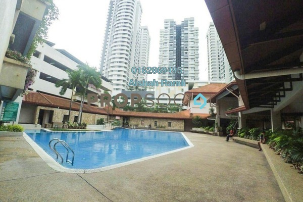 For Sale Condominium at Changkat View, Dutamas Freehold Semi Furnished 3R/2B 475k