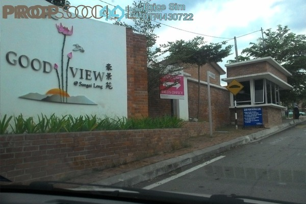 For Rent Townhouse at Goodview, Bandar Sungai Long Freehold Unfurnished 3R/2B 900translationmissing:en.pricing.unit