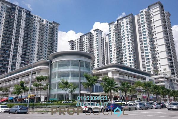 For Rent Condominium at Elit Heights, Bayan Baru Freehold Fully Furnished 3R/2B 1.85k