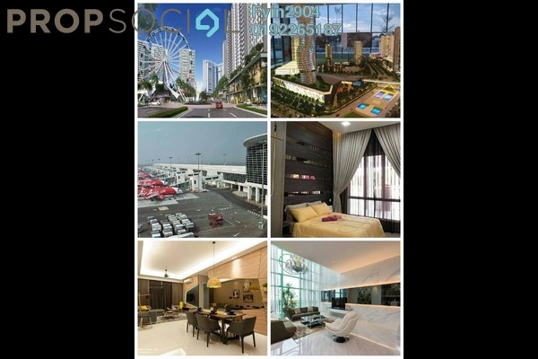 For Sale Condominium at Bandar Springhill, Sendayan Freehold Semi Furnished 1R/1B 210k
