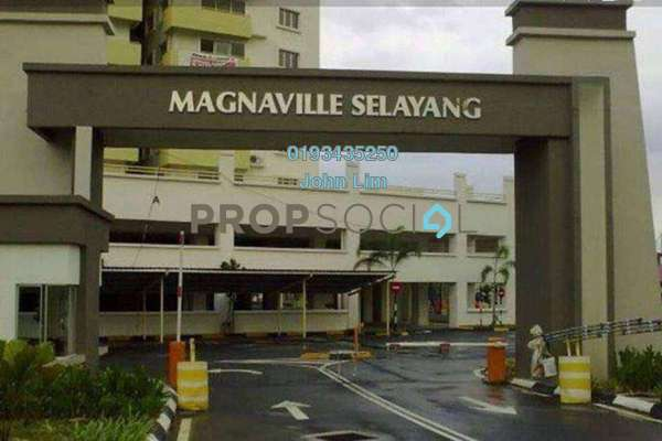 For Rent Condominium at Magna Ville, Selayang Freehold Fully Furnished 3R/2B 1.3k