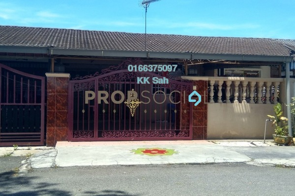 For Sale Link at Taman Megah, Cheras South Freehold Semi Furnished 3R/2B 460k
