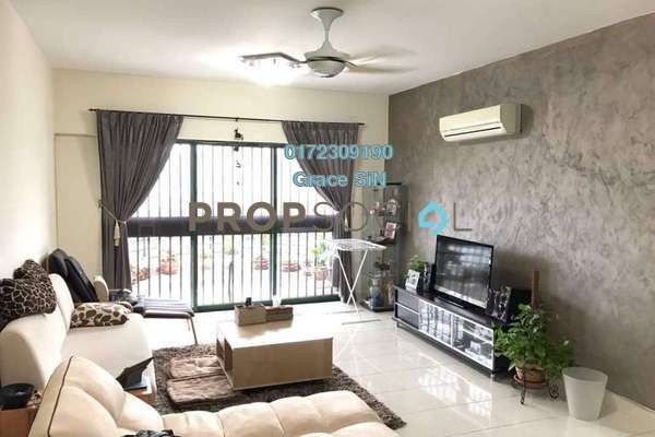For Rent Condominium at Duta Ria, Dutamas Freehold Semi Furnished 3R/2B 2k